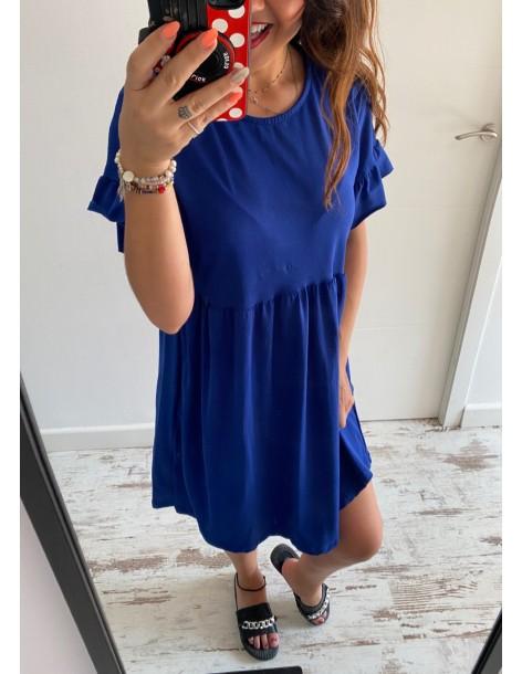 Vestido algodón Susi Azuluna