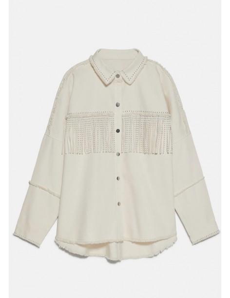 Camiseta algodón despintada