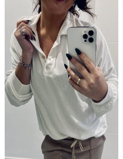 Falda midi botones
